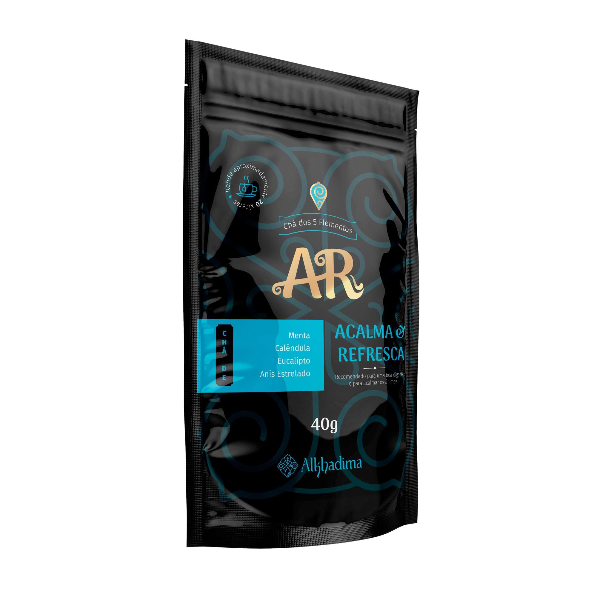 Chá dos 5 Elementos: Ar 40g Alkhadima