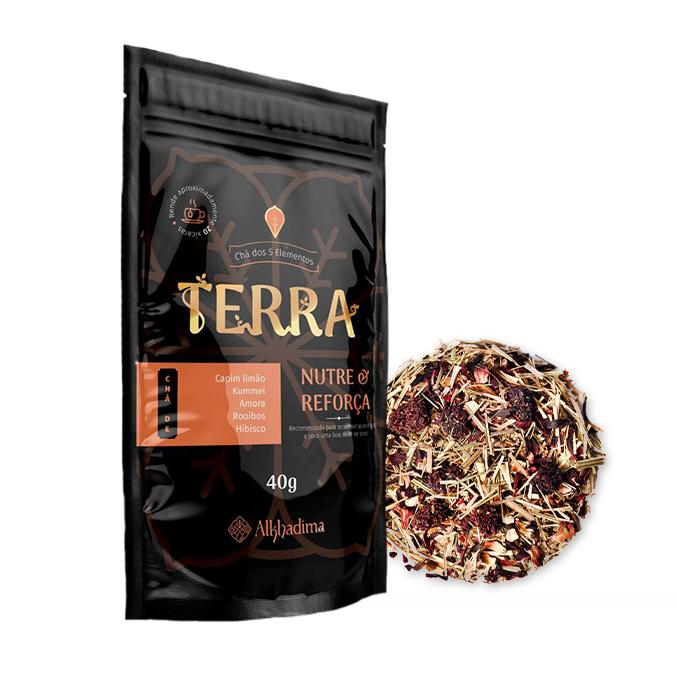 Chá dos 5 Elementos Terra 40g Nutre e Reforça