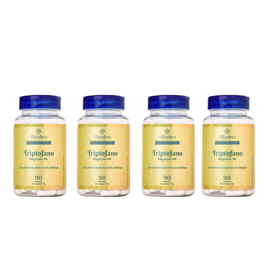 4 Elixir do Bem Estar - Triptofano, Magnésio + B6 (4 unidades)