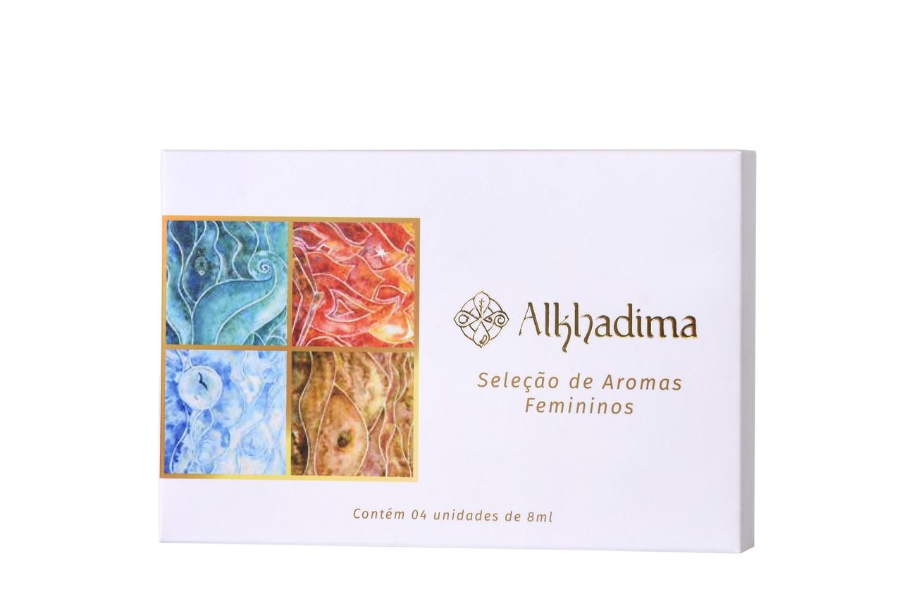 Kit Perfumes Femininos: Zayn, Madar, Ayni e Alhawa - 8ml