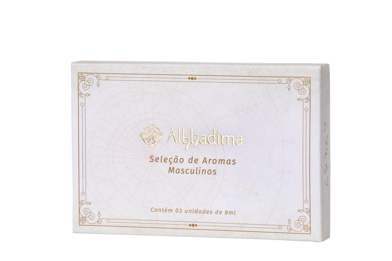 Kit Perfumes Masculinos: Artú, Nar e Kawium - 8ml