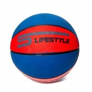 Bola De Basquete 7 Vermelha E Azul - LifeStyle