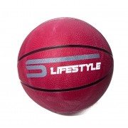 Bola de Basquete Borracha Vinho Medida 33cm - LifeStyle