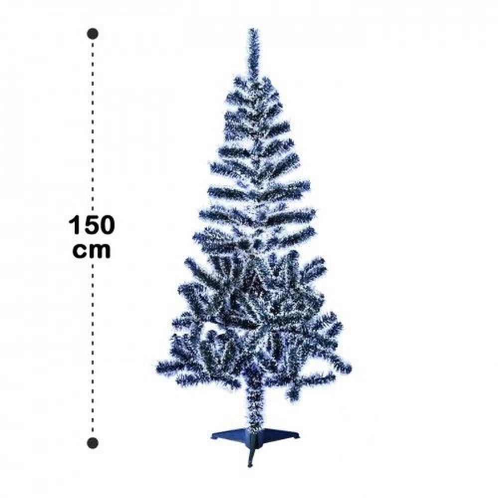 ÁRVORE DE NATAL NEVADA - 150cm 220 GALHOS