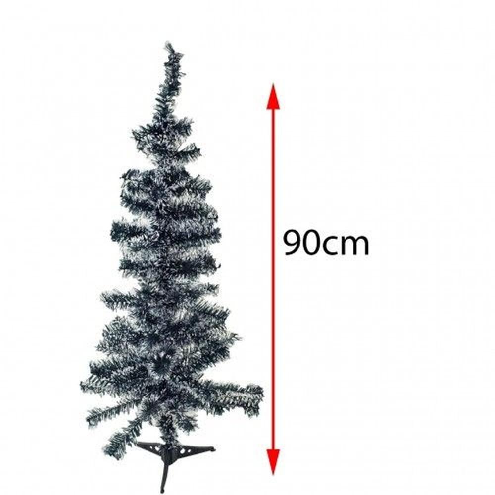 Árvore de Natal Nevada 90cm com 90 Galhos Rio Master .