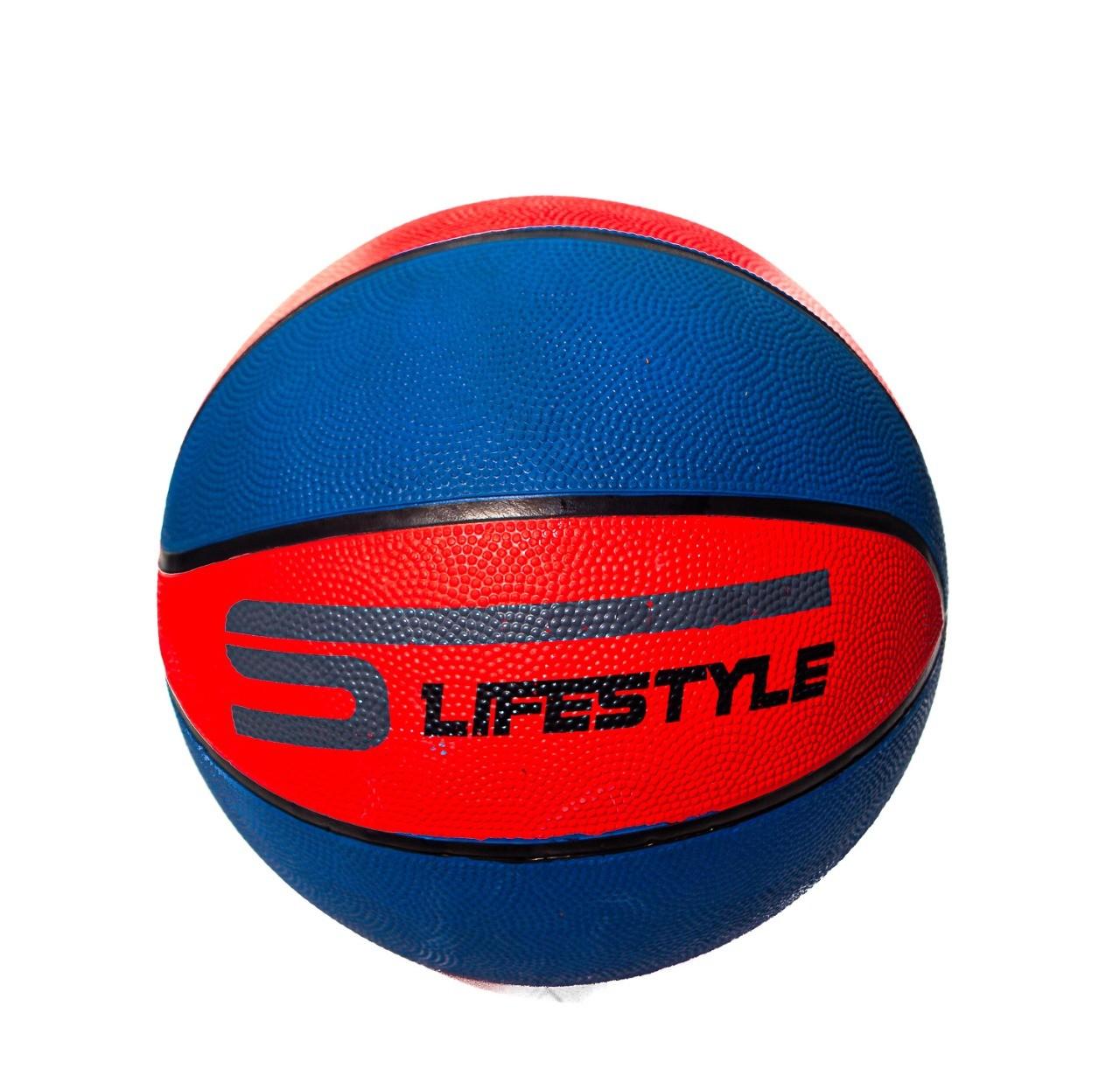 Bola De Basquete 7 Vermelha E Azul - LifeStyle  -  Mothelucci Loja online