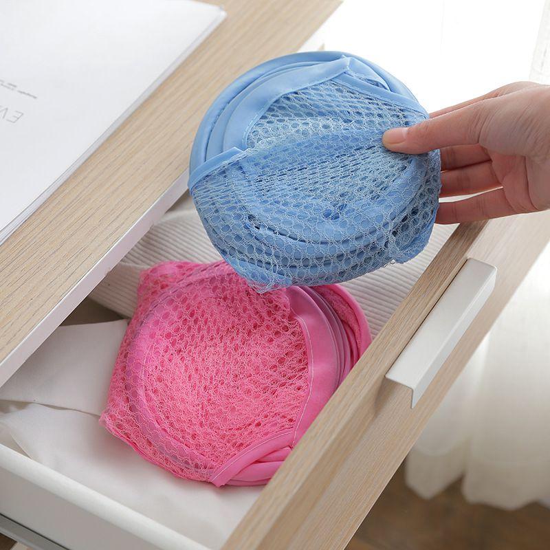 Cesto Dobrável Para Roupa Suja Organizador Lavanderia Banheiro Colorido Nylon Multiuso  -  Mothelucci Loja online