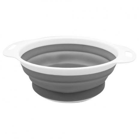 Escorredor de Alimentos Cozinha Retrátil Silicone - Clink