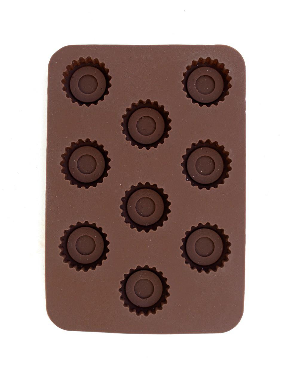 FORMA DE SILICONE PARA BOMBONS DE CHOCOLATE  -  Mothelucci Loja online