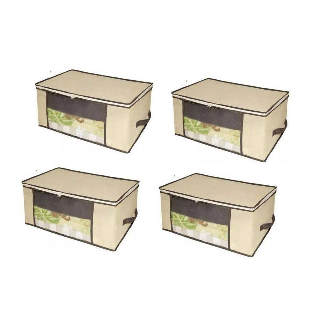 Kits 4 caixas TNT organizadoras