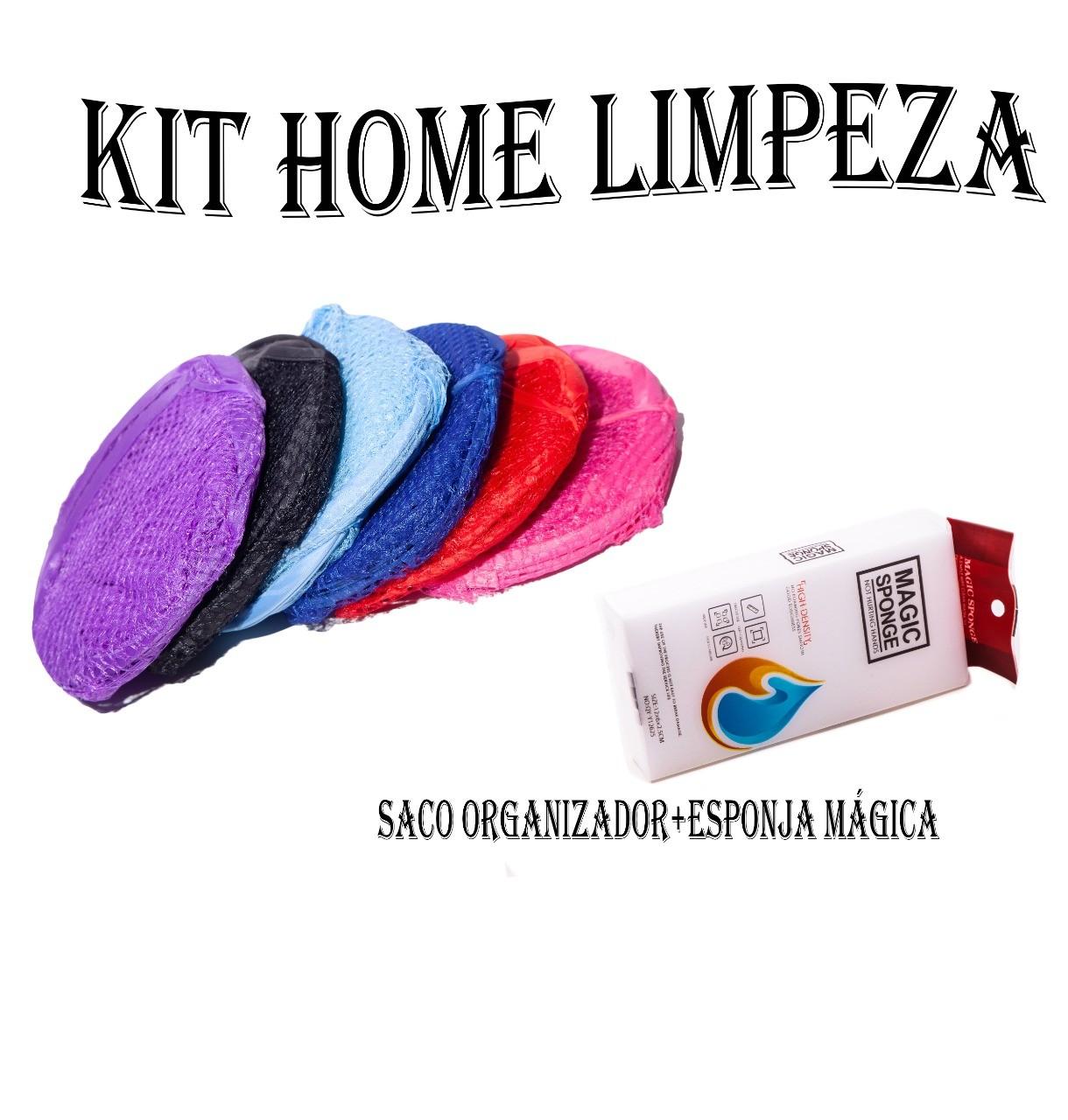 Kit Limpeza Cesto Dobrável E Esponja Mágica  -  Mothelucci Loja online