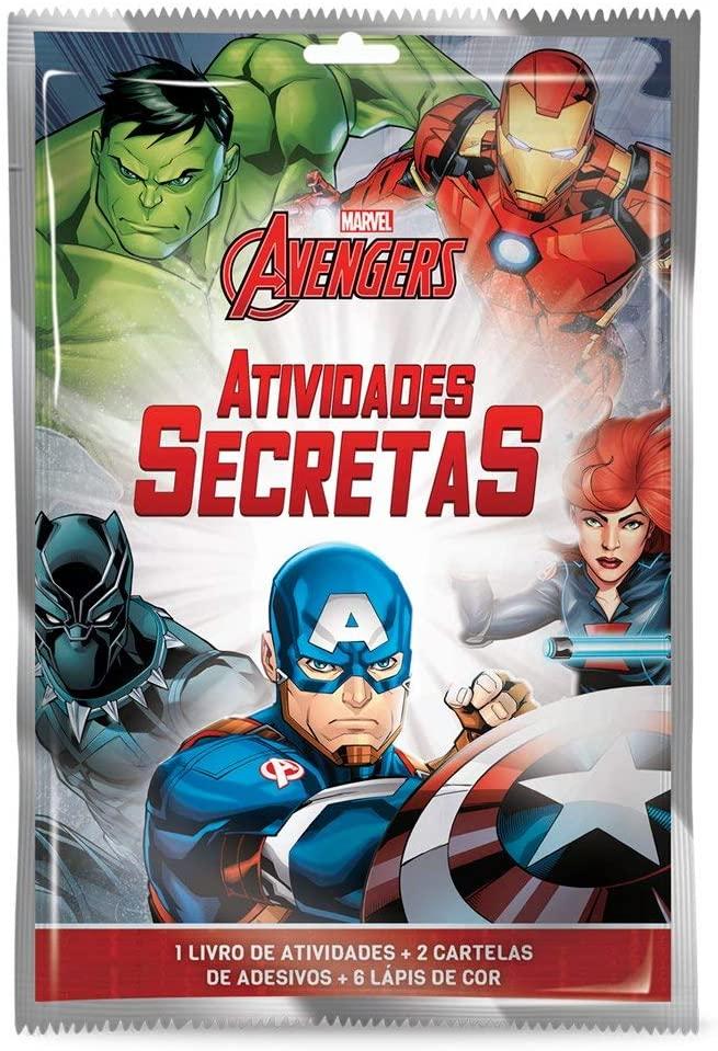 Livro Atividades Secretas Vingadores  -  Mothelucci Loja online