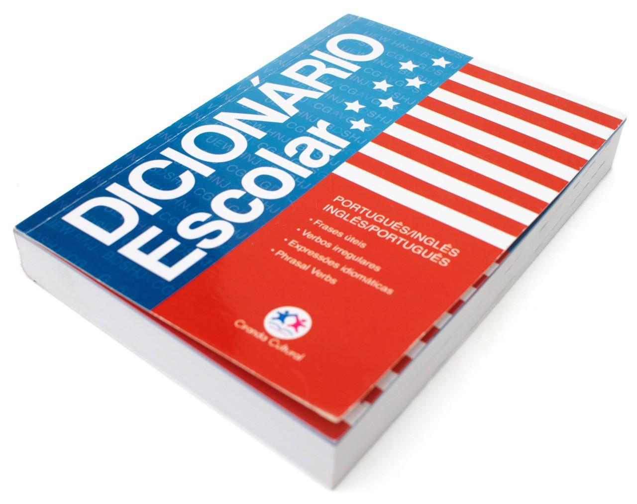 Livro - Dicionário Escolar: Português - Inglês / Inglês - Português