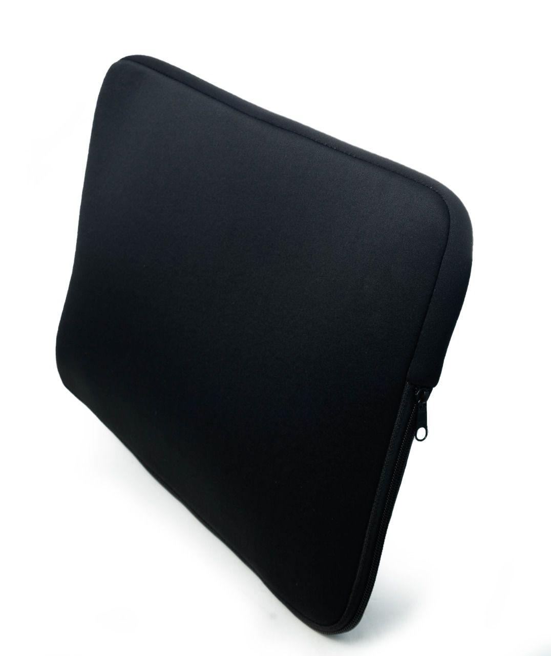 Luva Capa Case 15,6 Polegadas Preta para Notebook Ultrabook