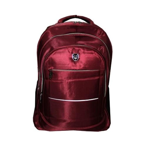 Mochila Notebook Reforçada Cabo De Aço Escolar Universitária Trabalho Viagem Vermelha