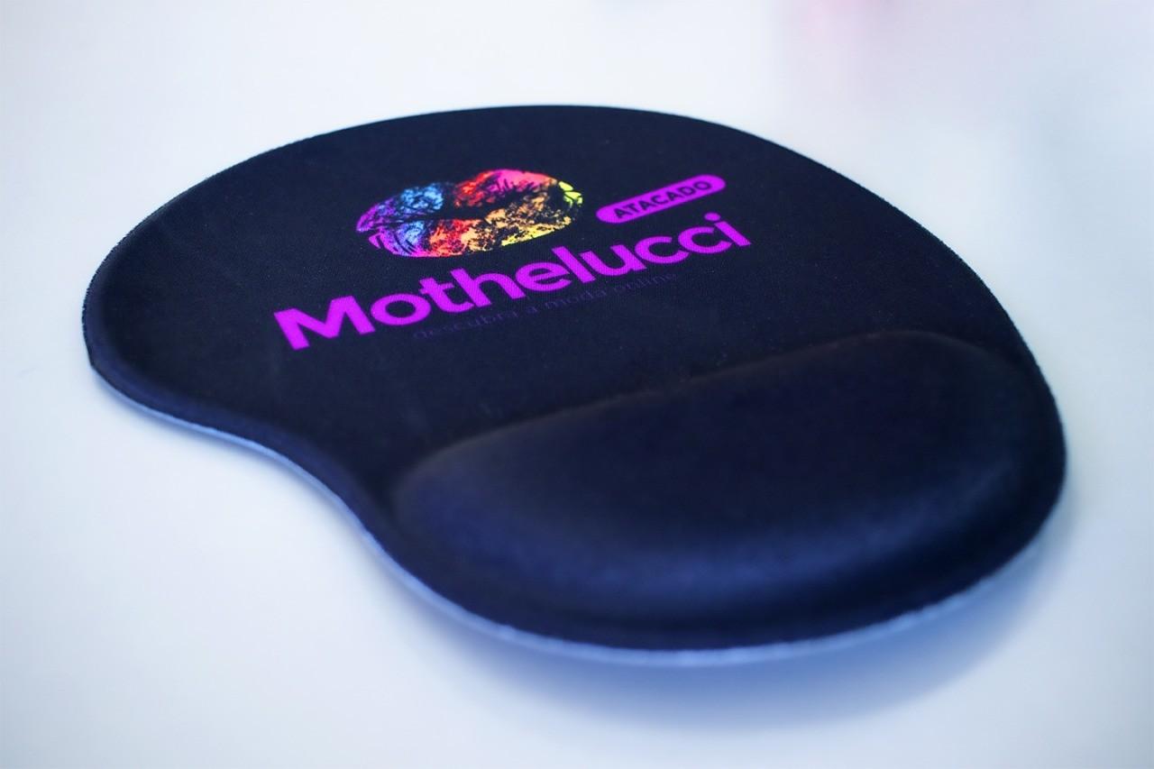 Mouse Pad com Apoio para o Pulso Mothelucci