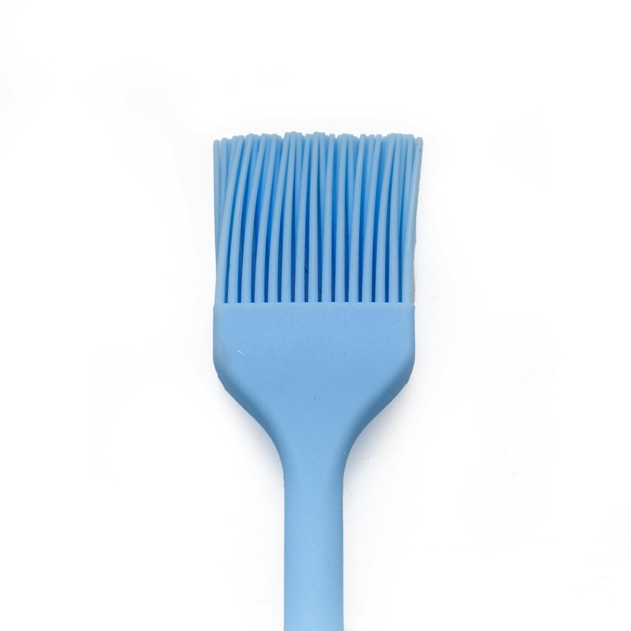 Pincel Cozinha Silicone Azul Pincelar Carne Massas Untar Forma  -  Mothelucci Loja online