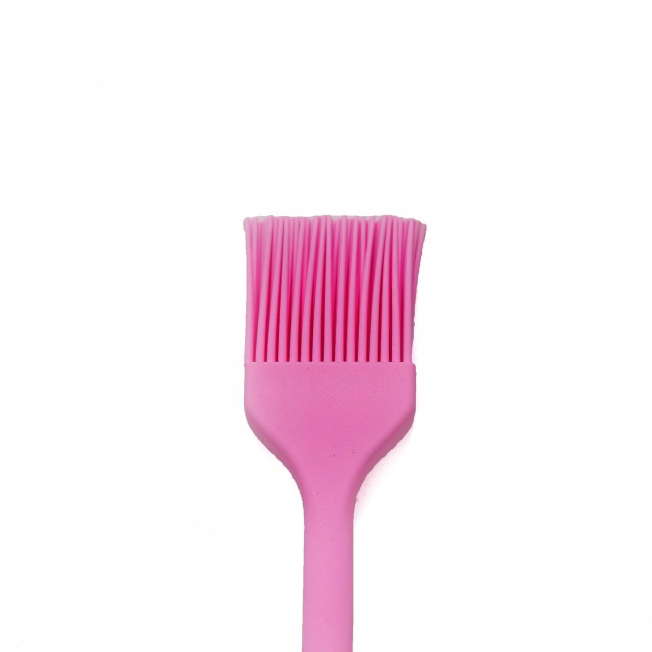 Pincel Cozinha Silicone Rosa Pincelar Carne Massas Untar Forma  -  Mothelucci Loja online