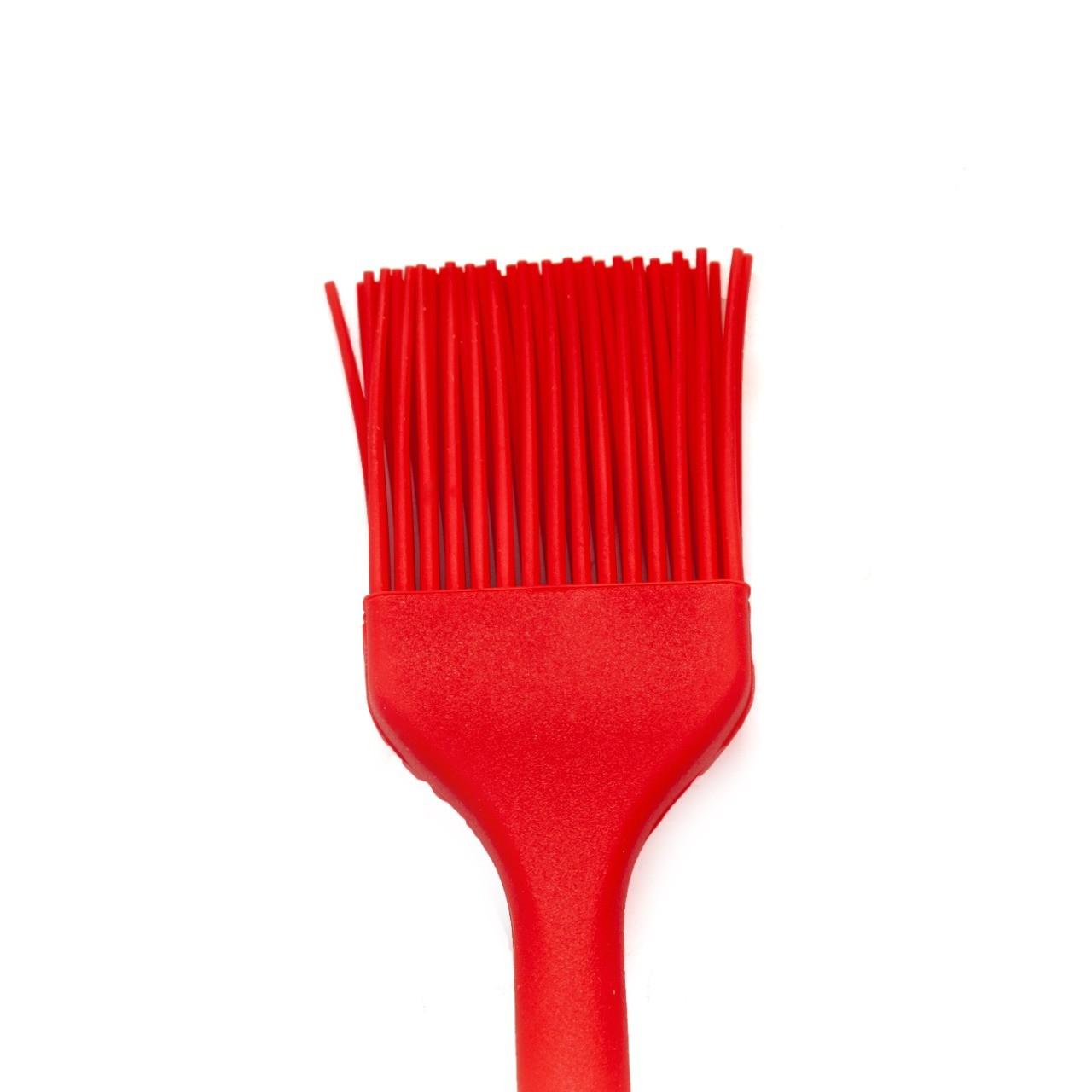 Pincel Cozinha Silicone Vermelho Pincelar Carne Massas Untar Forma  -  Mothelucci Loja online
