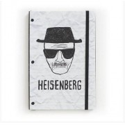 Caderno de Notas Breaking Bad Desenho Heisenberg