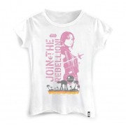 Camiseta Feminina Rogue One Jyn Erso
