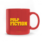 Caneca Pulp Fiction Logo