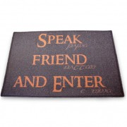 Capacho Senhor dos Anéis - Speak Friend and Enter