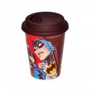 Copo Cerâmica DC - Batman e Robin