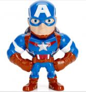 """Metals Die Cast Capitão América 2,5"""" - Avengers"""