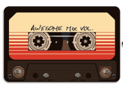 Porta Chaves GotG - Awesome Mix Tape