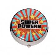 Porta Comprimidos Metal DC - Super Powers
