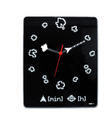 Relógio de Parede - Asteroids