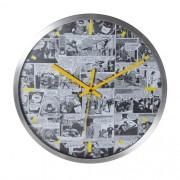 Relógio de Parede DC - Comics Quadrinhos Preto e Branco