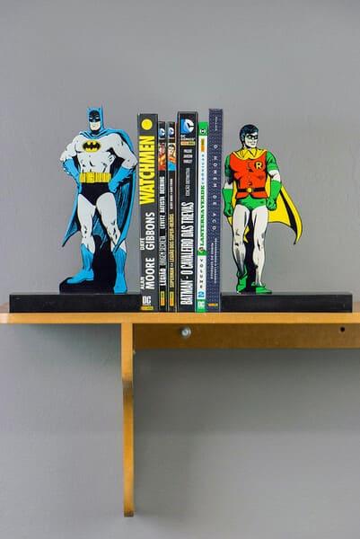 Aparador Livro DC - Batman e Robin