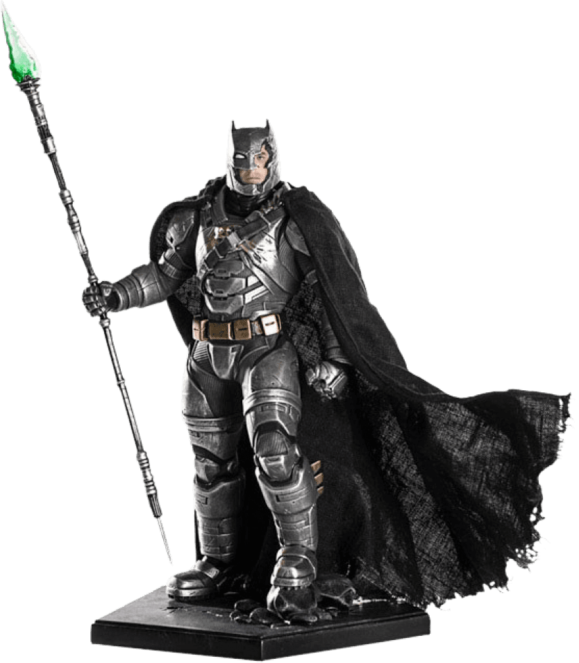 Armored Batman 1:10 (Damaged ver,),- Batman vs Superman - Iron Studios