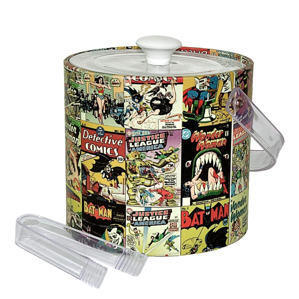 Balde de Gelo DC - Capas DC Comics