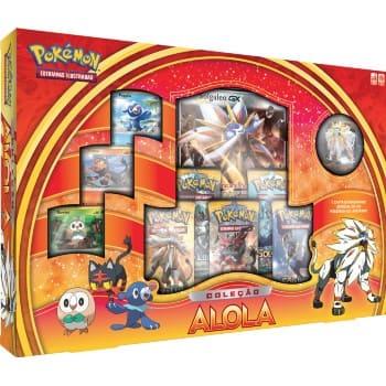 Box Coleção Alola Solgaleo