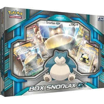 Box Snorlax GX - Pokemon