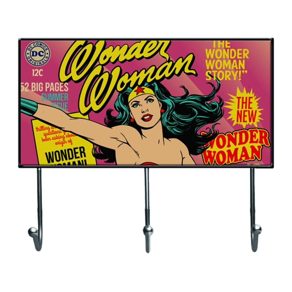 Cabideiro de Vidro DC - Wonder Woman Cover Page