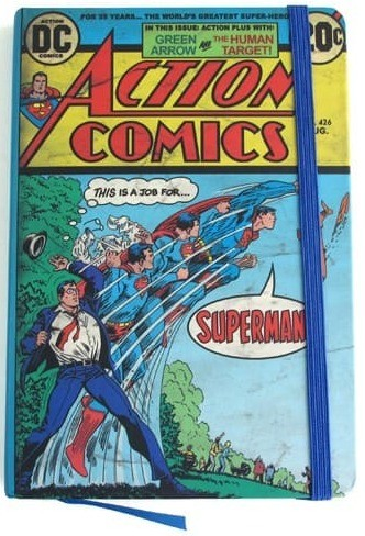 Caderno de Notas DC - Superman Action Comics