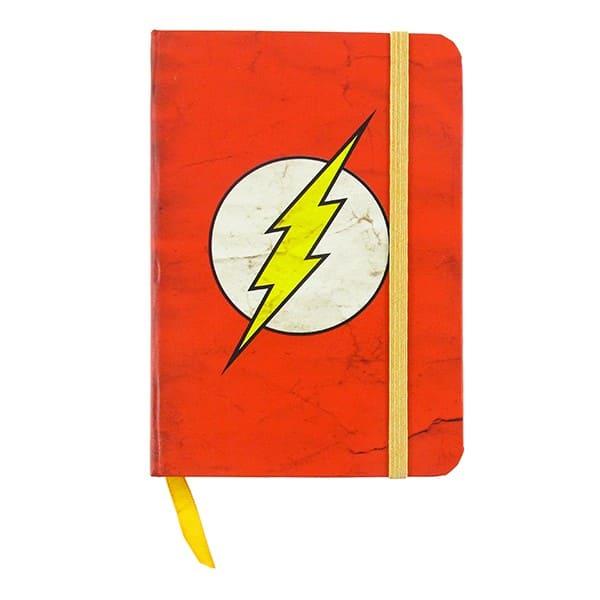 Caderno de Notas DC -The Flash Logo