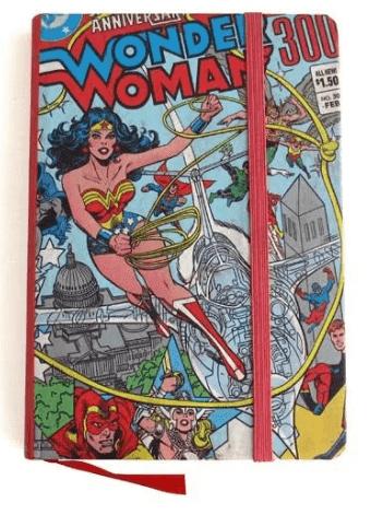 Caderno de Notas DC - Wonder Woman