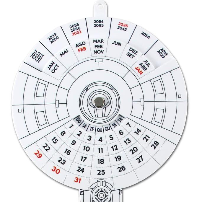 Calendário Star Trek - Enterprise