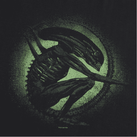 Camiseta Alien Xenomorfo