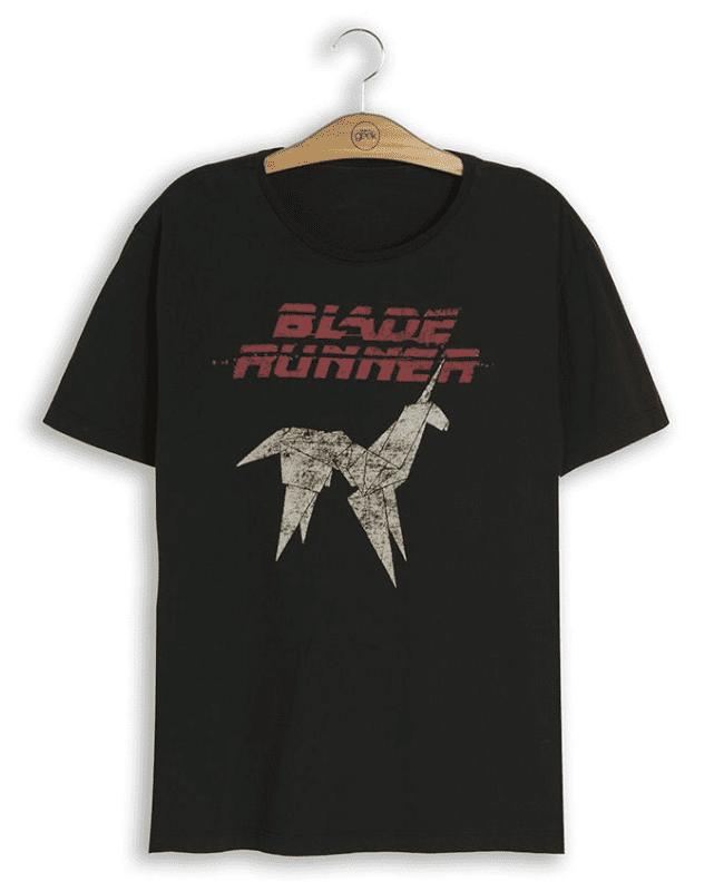Camiseta Blade Runner Origami Unicórnio