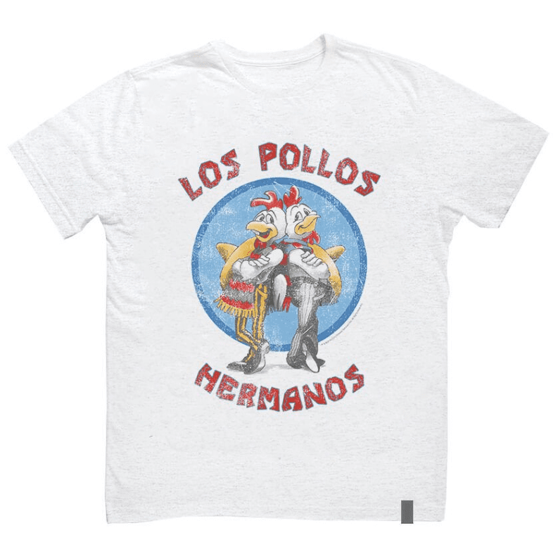 Camiseta Breaking Bad Los Pollos Hermanos