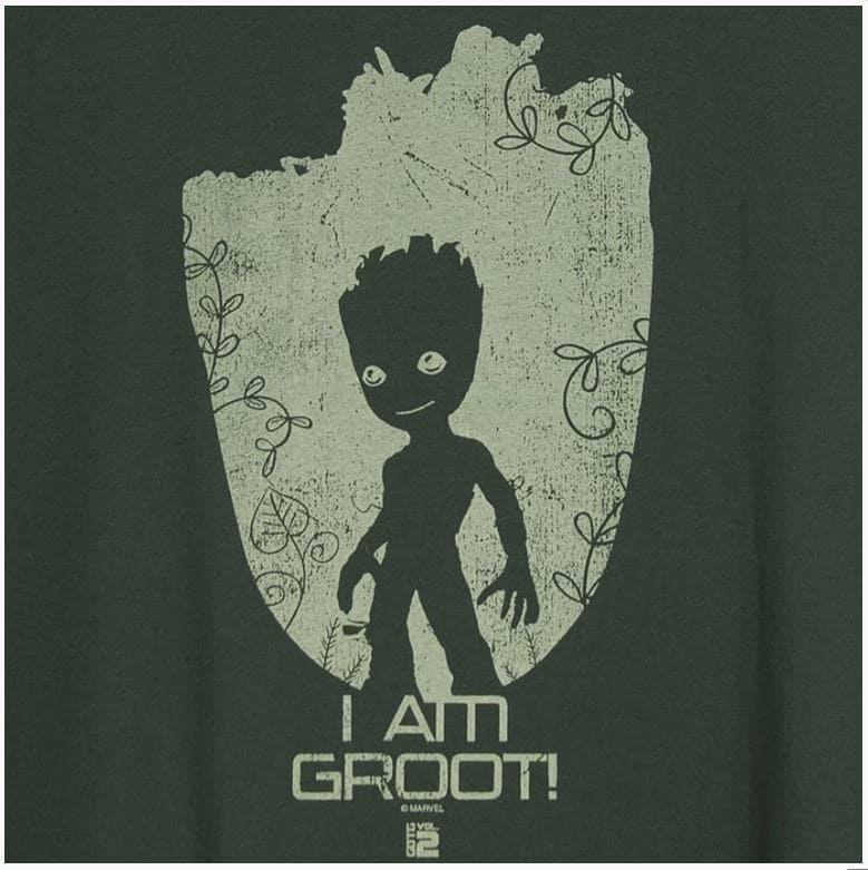 Camiseta Feminina Baby Groot GoG Vol. 2