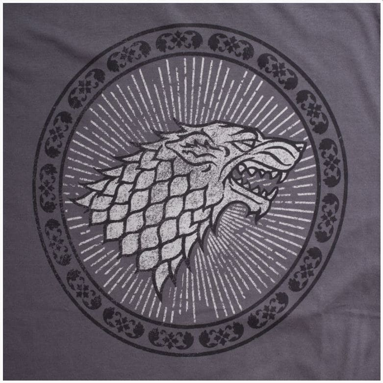 Camiseta Feminina Game of Thrones Casa Stark