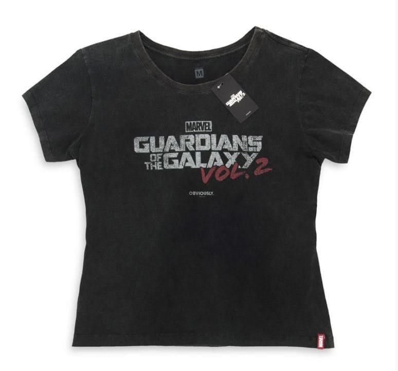 Camiseta Feminina Guardiões da Galáxia Vol,2 Logo