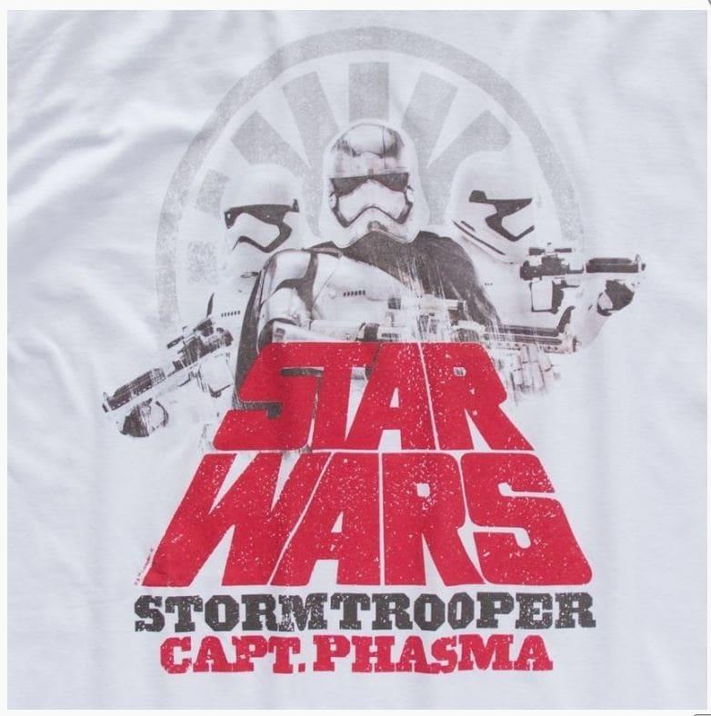 Camiseta Feminina Star Wars Capitã Phasma